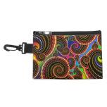Rainbow Fractal Art Swirl Pattern Accessories Bags
