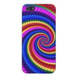 Rainbow Fractal Art Swirl Pattern iPhone 5 Case