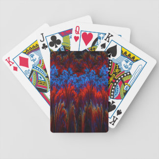 Rainbow Fractal - Bicycle playing cards