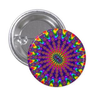 Rainbow Fractal Burst Button