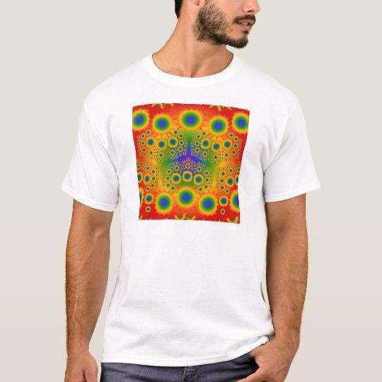 Rainbow Fractal Explosions: T-Shirt