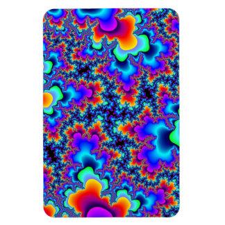 Rainbow Fractal Flexi Magnet
