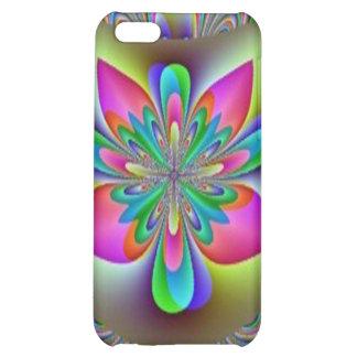 Rainbow Fractal Flower Speck Case iPhone 5C Covers