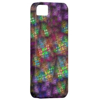 Rainbow Fractal iPhone SE/5/5s Case