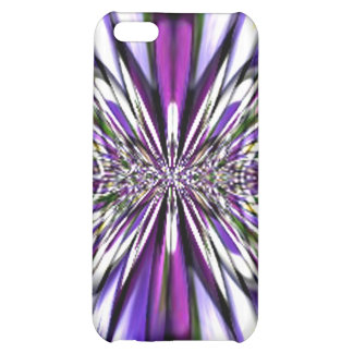 Rainbow Fractal Lace Speck Case Cover For iPhone 5C