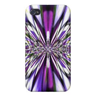 Rainbow Fractal Lace Speck Case iPhone 4 Case