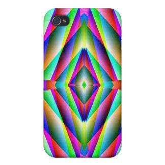 Rainbow Fractal Speck Case iPhone 4 Case