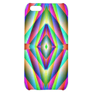 Rainbow Fractal Speck Case Case For iPhone 5C