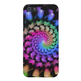 Rainbow Fractal Swirl for 4 iPhone SE/5/5s Cover