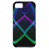 Rainbow Fractal X iPhone 5 Cases
