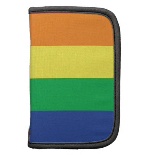 Rainbow  Freedom Gay Pride Flag Symbol Organizer