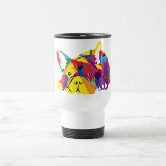 Rainbow French Bulldogge Travel Mug