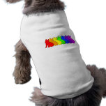 Rainbow Frenchie Pet Clothes