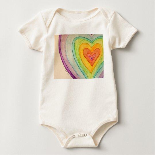 Rainbow Friendship Hearts Custom Love Art Shirts