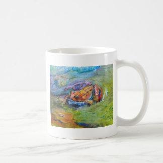 Rainbow Frog Fine Art Colorful in Water Coffee Mug