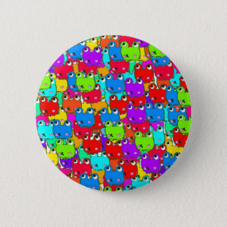 Rainbow Frogs badge Button