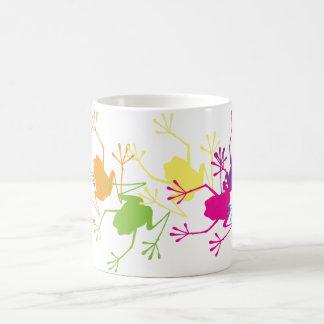 Rainbow Frogs Coffee Mug