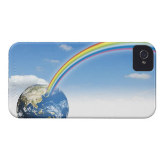 Rainbow from Earth 2 Case-Mate iPhone 4 Case