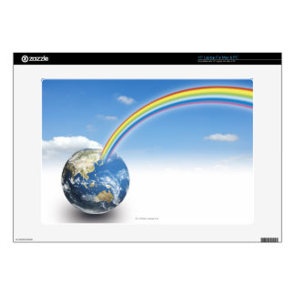 Rainbow from Earth 2 Decals For Laptops