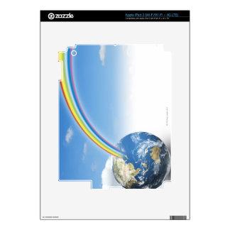 Rainbow from Earth 2 iPad 3 Decal