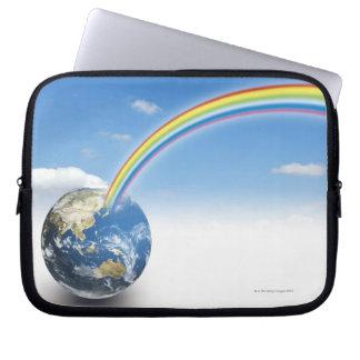 Rainbow from Earth 2 Laptop Sleeve