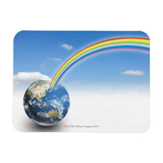 Rainbow from Earth 2 Magnet