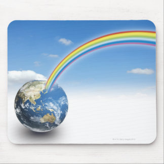 Rainbow from Earth 2 Mouse Pad