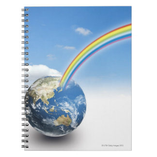 Rainbow from Earth 2 Notebook