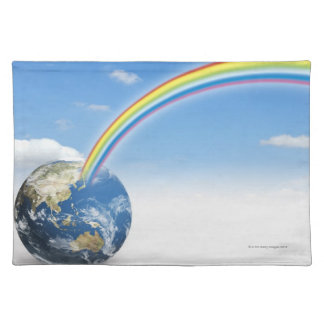 Rainbow from Earth 2 Placemat