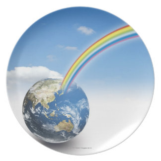 Rainbow from Earth 2 Plate