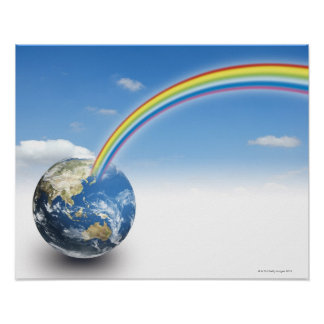 Rainbow from Earth 2 Poster
