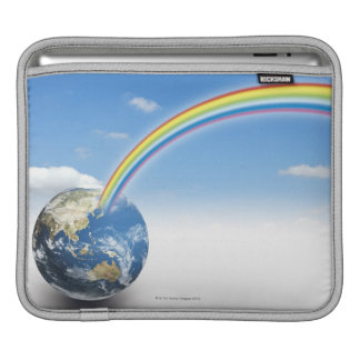 Rainbow from Earth 2 Sleeve For iPads