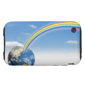 Rainbow from Earth 2 Tough iPhone 3 Case
