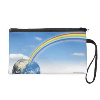 Rainbow from Earth 2 Wristlet
