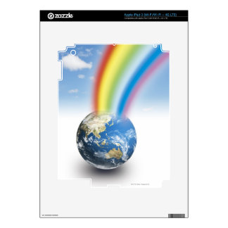 Rainbow from Earth Decal For iPad 3