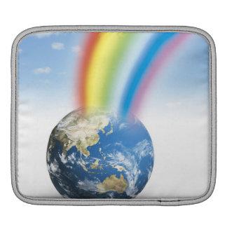 Rainbow from Earth iPad Sleeve
