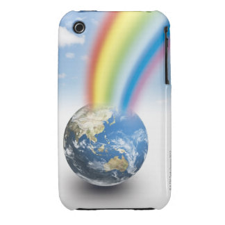 Rainbow from Earth iPhone 3 Case-Mate Case