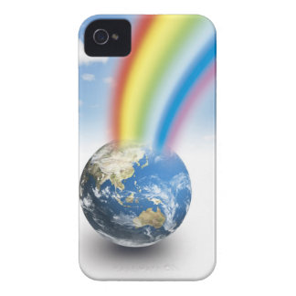 Rainbow from Earth iPhone 4 Case-Mate Case