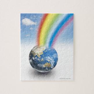 Rainbow from Earth Jigsaw Puzzle