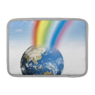 Rainbow from Earth MacBook Sleeve