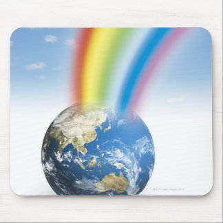 Rainbow from Earth Mouse Pad