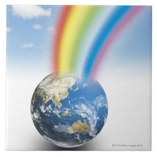 Rainbow from Earth Tile