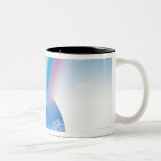 Rainbow from Earth Two-Tone Coffee Mug