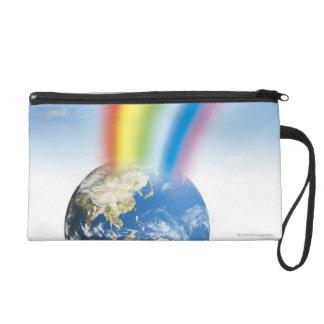 Rainbow from Earth Wristlet