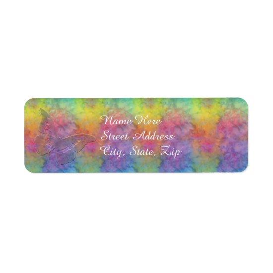 [Rainbow Frost] Return Address Size Label