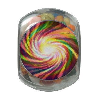Rainbow Galaxy, Tea/Herb Jar Jelly Belly Candy Jar