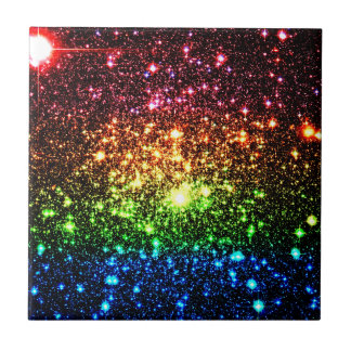 Rainbow Galaxy Tile