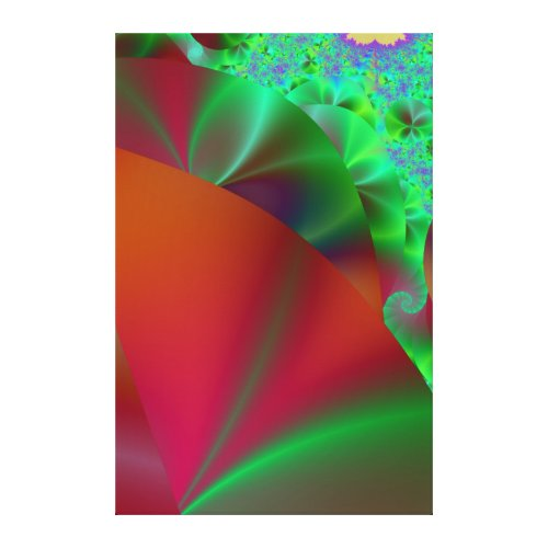 Rainbow Garden Wrapped Canvas zazzle_wrappedcanvas