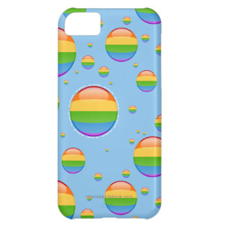 Rainbow Gay Lesbian Pride Bubble Flag iPhone 5C Case