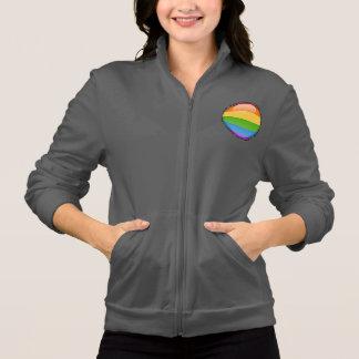 Rainbow Gay Lesbian Pride Bubble Flag Jacket